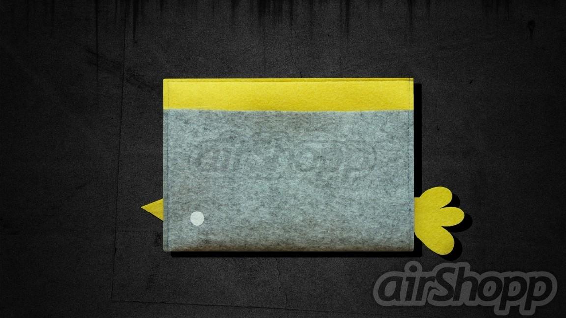 Bird Ribbon-Pull iPad Mini Felt Sleeve