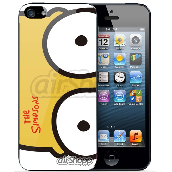 Simpson's Homer iPhone 5/5S Decal V3
