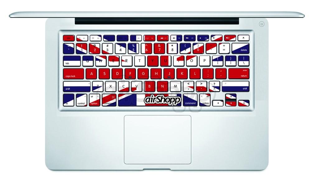 UK Flag MacBook Keyboard Decal