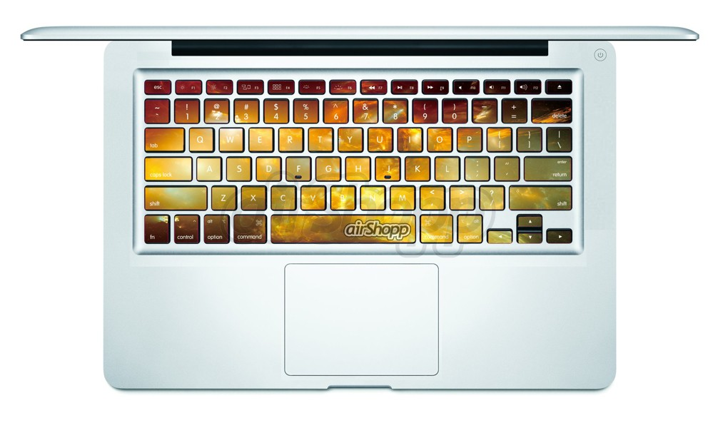 Nebula MacBook Keyboard Decal V2