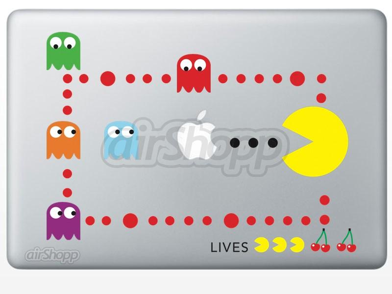 Pacman MacBook Decal