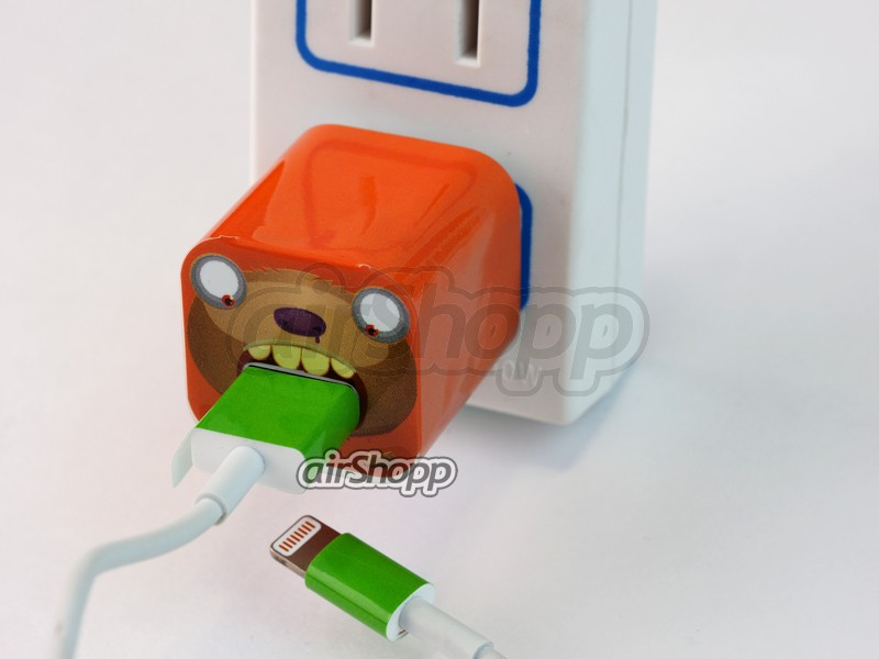 iPhone USB Charger Decal  V3