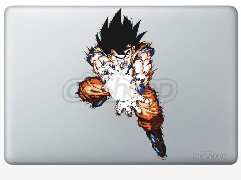 Dragon Ball Goku MacBook Decal