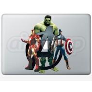 Avengers MacBook Decal