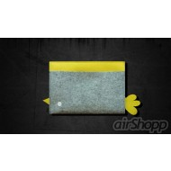 Bird Ribbon-Pull iPad Felt Sleeve