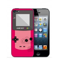 Gameboy Pink iPhone 5 Decal