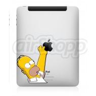 Homer iPad Decal