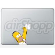 Homer MacBook Decal (B)