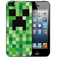 Minecraft iPhone 5/5S Decal V2