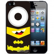 Despicable Me Minion Spiderman iPhone 5/5S Decal V2