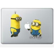 Despicable Me Minion MacBook Decal V2
