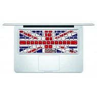 UK Flag MacBook Keyboard Decal