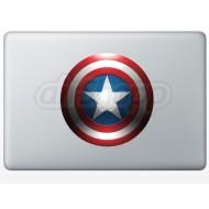 Captain America  MacBook Decal