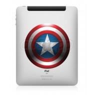 Captain America iPad Decal