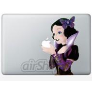 Snow White Emo MacBook Decal B