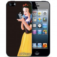 Snow White iPhone 5/5S Decal (Black Backing)