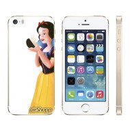 Snow White iPhone 5/5S Decal (White Backing)
