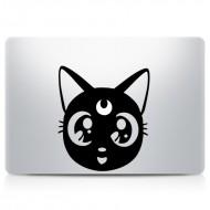 Sailor Moon Luna MacBook Decal