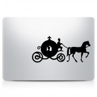 Princess Carriage MacBook Decal