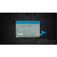 Whale Ribbon-Pull iPad Mini Felt Sleeve