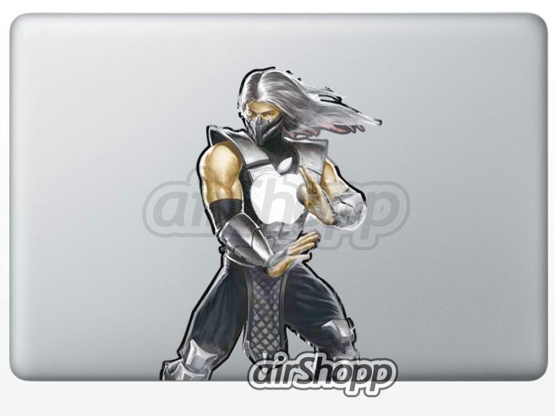 Mortal Combat Smoke MacBook Decal