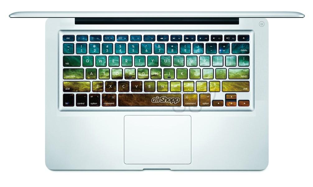 Nebula MacBook Keyboard Decal V3