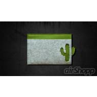 Cactus Ribbon-Pull 13 inch Macbook Felt Sleeve