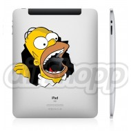Homer iPad Decal (B)