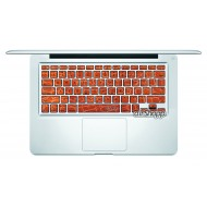 Leather Style MacBook Keyboard Decal